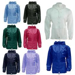 unisex rain coat kagool kagoul cagoule s
