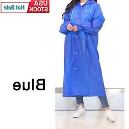 Unisex Raincoats Adult Emergency Rain Coat Poncho Hiking Cam