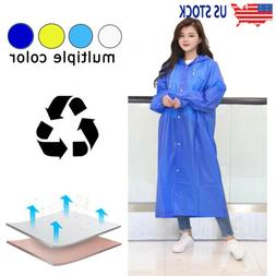 Unisex Raincoats Disposable Adult Emergency Rain Coat Poncho