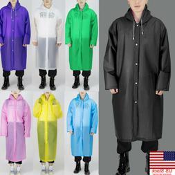us mens womens long waterproof jacket rain