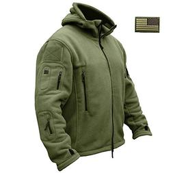 ReFire Gear Men's Warm Military Tactical Sport Fleece Hoodie