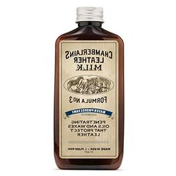 Chamberlain's Leather Milk 8 oz Water Protectant No. 3: Best