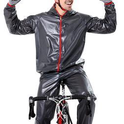 Waterproof Cycling Jersey Raincoat Men Women Cycling Clothin