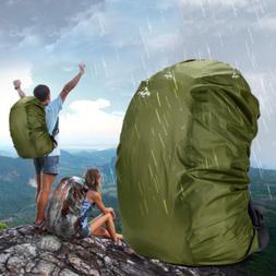Waterproof Dust Rain Cover Backpack Outdoor Portable Raincoa