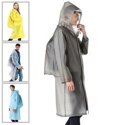 Waterproof Jacket Hooded Raincoat Rain Coat Poncho Rainwear