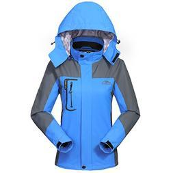 MICKYMIN Waterproof Jacket Rain Coats for Women Outdoor Hood