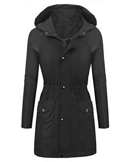 Beyove Waterproof Lightweight Rain Jacket Active Outdoor Hoo