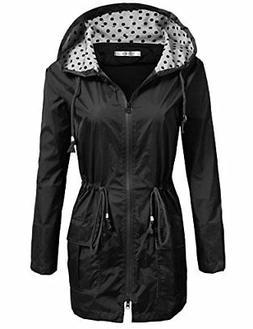 UNibelle Waterproof Lightweight Rain Jacket Active Outdoor H