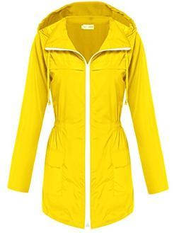 Hotouch Waterproof Lightweight Rain Jacket Active Outdoor Ho