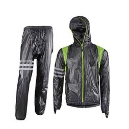 RockBros Men's Waterproof Rain Jacket Cycling Running Rain C