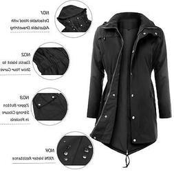Uniboutique Waterproof Raincoats Outdoor Hooded Lightweight