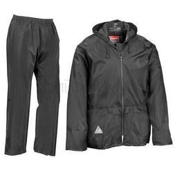 Result Waterproof Windproof Rain Suit Jacket/Coat & Trousers