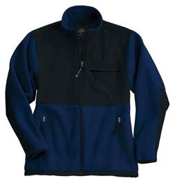 Charles River Apparel Men's Wind Resistant Fleece Jacket, Na