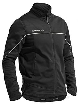 INBIKE Winter Men's Fleeced Athletic Jacket Soft Shell Coat