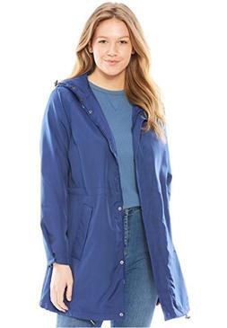 Woman Within Plus Size Rainwear Anorak