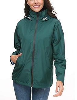 womans lightweight rainwear softshell casual outwear windbre
