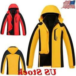 women hooded jacket waterproof windproof snow rain