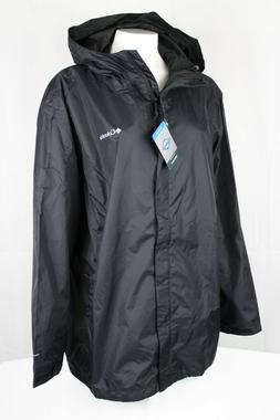 Columbia Women's Arcadia II Rain Jacket Sizes 2X & 3X Black