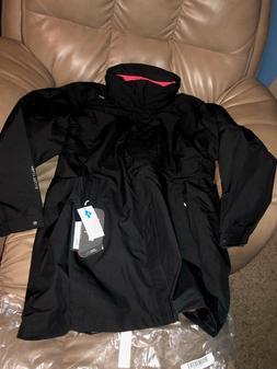 Helly Hansen Women's Bellevue CIS  Rain Coat, Black, Size XL