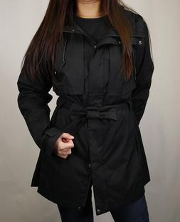 Columbia Women's Black Pardon My Trench Full Zip Rain Jacket