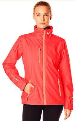 Helly Hansen Women's Crew Rain Jacket Coral or Navy