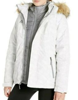 Reebok Women's Faux Fur 3-in-1 Hooded Ski Jacket - Size M -