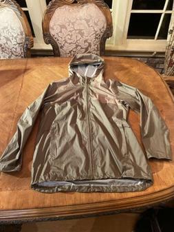 Mountain Hardwear Women's L Large Rain Jacket Shell Coat Lig