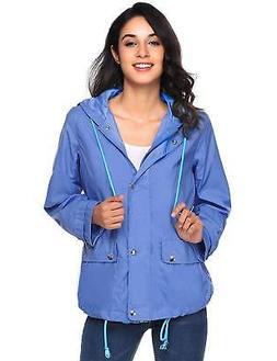 Beyove Women's Lightweight Rain Jacket Waterproof with Hood