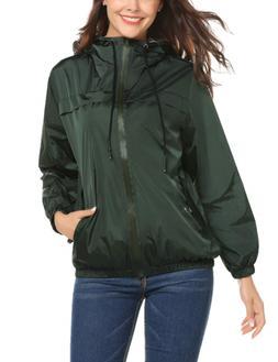 women s lightweight waterproof raincoat quick drying