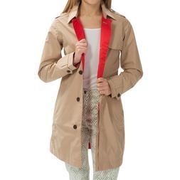 Timberland Women's Mount Liberty Waterproof Rain Coat Trench