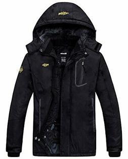 Wantdo Women's Mountain Waterproof Ski Jacket Windproof Rain