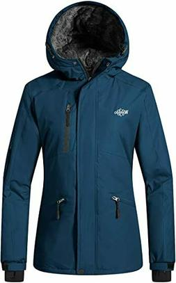 Wantdo Women's Mountain Winter Snow Ski Jacket Waterproof Ho