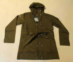 Columbia Women's Pardon My Trench Rain Jacket MW7 Olive Gree