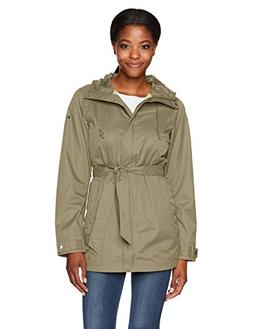 women s pardon my trench rain jacket