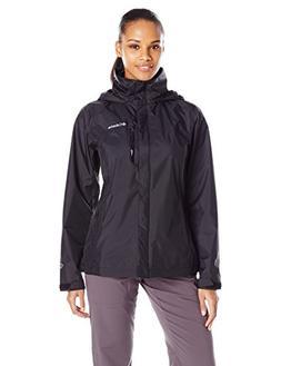 Columbia Women's Pouration Waterproof Rain Jacket, Medium, B