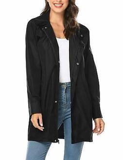 women s raincoat lightweight waterproof outdoor hooded