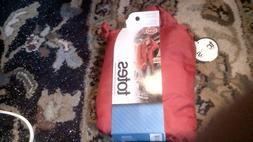 Women's RED Totes Packable raincoat size small with hood, Wa