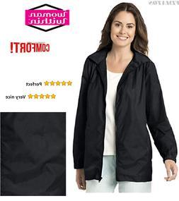 Women's Stylish Long  Light Weight Waterproof Rain Coat with