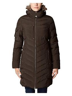 Eddie Bauer Women's Sun Valley Down Parka, Cocoa Regular S R