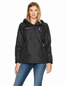 Columbia Women's Tested Tough in Pink Rain Jacket  - Choose