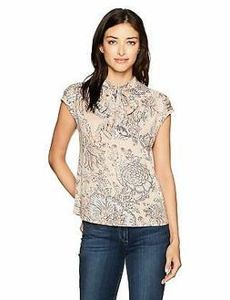 Lucky Brand Women's Tie Neck Blouse - Choose SZ/Color