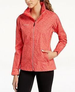 Columbia Women's Waterproof Printed Raincoat Size L