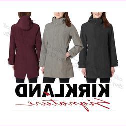 Women's Kirkland Signature Waterproof Wind Resistant Hooded
