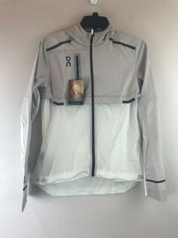 Women's On Weather Jacket Size- S Color- White/ Grey