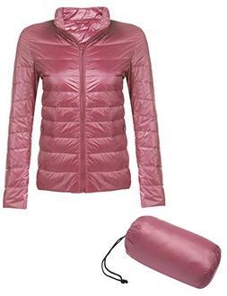 Beyove Women's Winter Waterproof Packable Outwear Light Coat