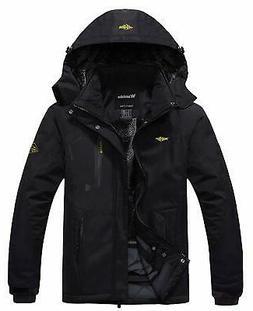 Wantdo Womens Black Size Medium M Full-Zip Waterproof Rain S