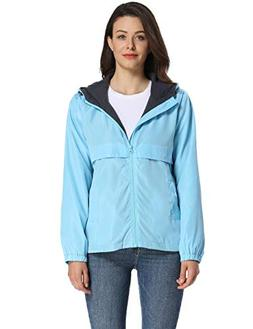 iLoveSIA Womens Fleece Lined Hooded Jacket with Rainproof Wi