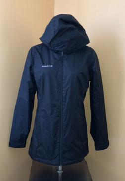 Columbia Womens Jacket Syccamore Springs M Long Rain Coat NW