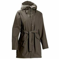 Helly Hansen Womens Kirkwall Rain Coat Soil Green