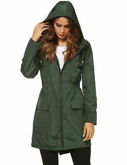 womens lightweight raincoat hooded waterproof active outdoor
